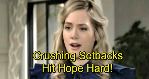 The Bold and the Beautiful Spoilers: 3 Crushing Setbacks Hit Hope Hard – Devastation Involves Shocking Liam and Steffy Blows
