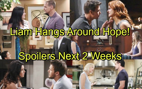 The Bold and the Beautiful Spoilers Next 2 Weeks: Bill's Love Crushes Steam - Liam Drifts Closer To Hope