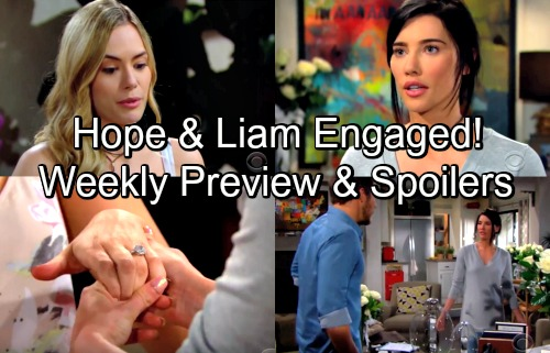 The Bold and the Beautiful Spoilers: Week of May 7 Preview – Steffy Attacks Hope Over Liam Engagement, Demands They Call It Off