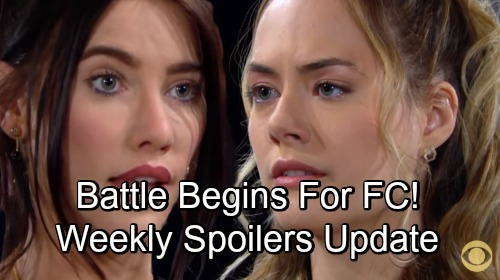 The Bold and the Beautiful Spoilers: Week of September 3 Update – Bitter Battles, Secret Favors and Major Baby Drama