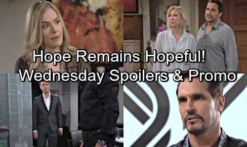The Bold and the Beautiful Spoilers: Wednesday, May 30 – Bill Warns Wyatt of Brutal Revenge – Hope's Wedding Dream Lives