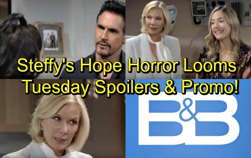 The Bold and the Beautiful Spoilers: Tuesday, July 3 – Bill Ends Steffy's Suffering, But Hope's Baby Drama Looms