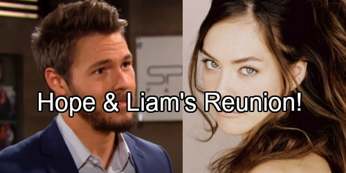 The Bold and the Beautiful Spoilers: Hope and Liam's Long-awaited Reunion – Heartbreak Brings Former Flames Back Together