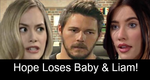 The Bold and the Beautiful Spoilers: Baby Loss Drives Liam Away from Hope – Steffy's Comfort Adds to Hope's Agony