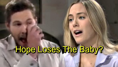The Bold and the Beautiful Spoilers: Hope and Liam's Crushing Loss, Miscarriage Wrecks Marriage – Lost Baby Pain Drives Them Apart?