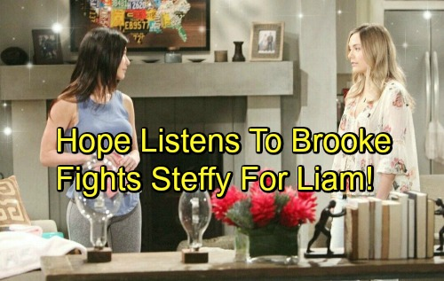 The Bold and the Beautiful Spoilers: Hope Takes Brooke's Advice – Steffy Faces Fierce Fight For Liam