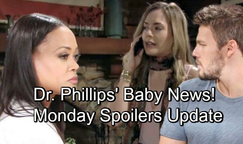 The Bold and the Beautiful Spoilers: Monday, September 3 Update - Hope's Hospital Emergency, Dr Phillips Reveals Baby Status
