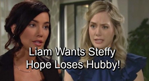 The Bold and the Beautiful Spoilers: Liam's Love Triangle Back On – Committed to Hope, But Can't Resist Steffy