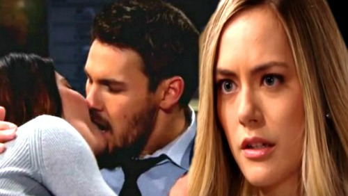 The Bold and the Beautiful Spoilers: Liam Love Triangle Back On – Steffy's Still a Contender, Hope and Liam Aren't Solid