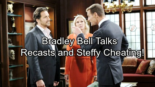 The Bold and the Beautiful Spoilers: Bradley Bell Dishes on Hot Storylines - Who Is Being Recast, Fate of Fan Favorites
