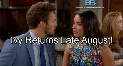 'The Bold and the Beautiful' Spoilers: Ivy Returns Late August – Which Heartbroken Spencer Brother Will She Comfort?