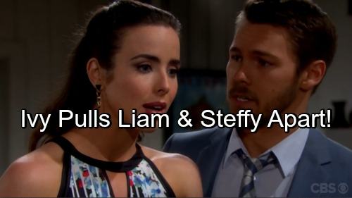 'The Bold and the Beautiful' Spoilers: Steffy and Liam Pulled Apart for Wyatt's Sake - Quinn Orders Ivy to Aid Her Twisted Plot