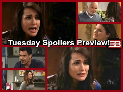 The Bold and the Beautiful Spoilers: Ridge Gains a Deeper Understanding of Quinn, Kisses Her – Thomas Gives Steffy Bad News