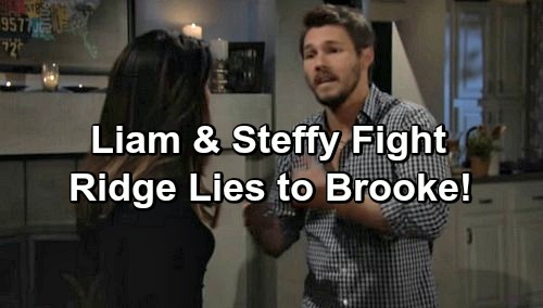 The Bold and the Beautiful Spoilers: Liam Explodes, Fights with Steffy – Ridge Lies To Brooke