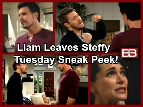 The Bold and the Beautiful Spoilers: Liam Rages, Leaves Steffy – Quinn Puzzled By Ridge's Devotion – Ivy Makes Katie Suspicious