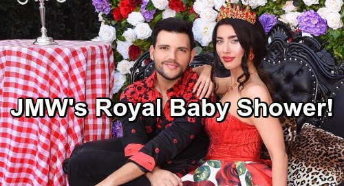 The Bold and the Beautiful Spoilers: Jacqueline MacInnes Wood's Larger Than Life Royal Baby Shower