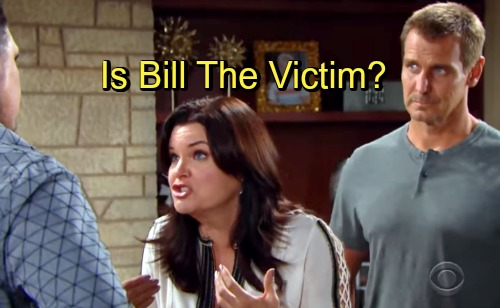 The Bold and the Beautiful Spoilers: Is Bill the Victim - Are Thorne and Ridge Being Fair?