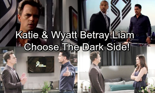 The Bold and the Beautiful Spoilers: Wyatt and Katie Choose The Dark Side - Form Unholy Alliance With Busted Bill