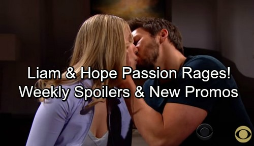The Bold and the Beautiful Spoilers: Week of April 2 – Hope and Liam Passion Rages - Bill's Shocking Decision - New Promo Video