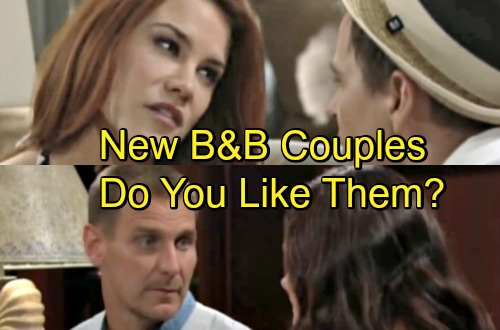 The Bold and the Beautiful Spoilers: Wyatt and Katie Quickly Bond with Romantic Replacements - Do You Like The New Couples?
