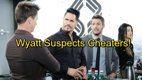 The Bold and the Beautiful Spoilers: Wyatt Grows Suspicious of Bill and Steffy – Cheaters Scramble as Pressure Rises