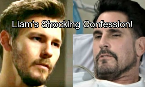 The Bold and the Beautiful Spoilers: Liam Confesses to Bill - Father Decides If Son Goes Down for Shooting