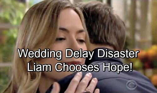 The Bold and the Beautiful Spoilers: Steam Wedding Delay of Doom – Liam's Decision Spells Disaster for Steffy, Hope Victory Ahead