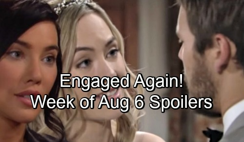 The Bold and the Beautiful Spoilers: Week of August 6 – Lope Engaged Again - Surprising Gifts, Huge Decisions and Growing Resentment