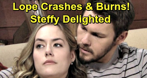 The Bold and the Beautiful Spoilers: Liam's Desperate Plan Backfires, Lope Crashes and Burns – Steffy Delighted by Marriage Mess