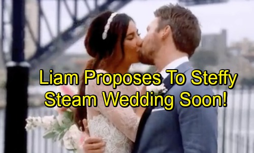 The Bold and the Beautiful Spoilers: Liam Proposes to Steffy – Promises Love and Solid 'Steam' Family's Future