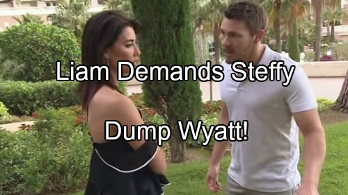 'The Bold and the Beautiful' Spoilers: Liam Pushes Steffy to Dump Wyatt, Come Back to Him – Quinn Panic Spreads
