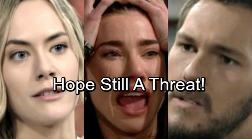 The Bold and the Beautiful Spoilers: Steffy Doubts Liam's Devotion, Demands Reassurance Before Wedding – Hope Remains a Threat