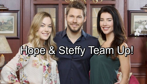 The Bold and the Beautiful Spoilers: Hope and Steffy Team Up for a Surprising Task – But B&B Storm's Brewing