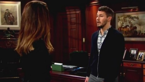 The Bold and the Beautiful Spoilers: Katie Gets Close with Eric While Quinn Kisses Ridge - Liam Gives Steffy a Harsh Ultimatum