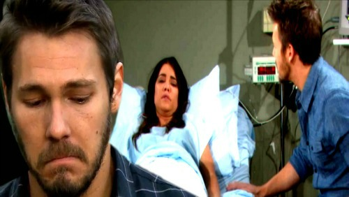 The Bold and the Beautiful Spoilers: Steffy's Tumble Leads to Early Labor, Baby's Medical Crisis – Liam and Steffy Bond