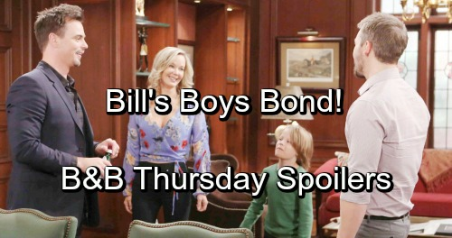 The Bold and the Beautiful Spoilers: Thursday, November 15 - Liam and Wyatt's Will Time - The High Cost of Bill's Silence