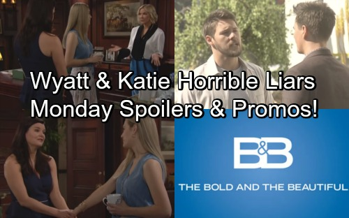 The Bold and the Beautiful Spoilers: Monday, May 21 – Wyatt Lies to Liam's Face – Katie Promotes Lope Wedding - Weekly Promo Video
