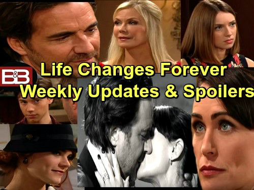 The Bold and the Beautiful Spoilers: Updates For Week of February 27– Young Love, Fierce Threats and Total Panic