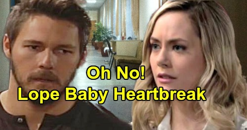 The Bold and the Beautiful Spoilers: Lope Baby Heartbreak, Dr. Andrews Grim Prognosis - Christopher Knight Back as Pediatrician