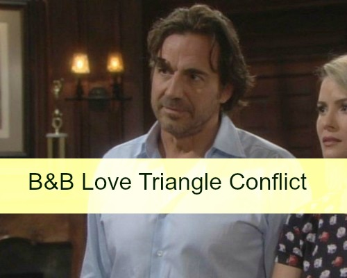 The Bold and the Beautiful (B&B) Spoilers: Love Triangle Jealousy Festers - Ridge Throws Thomas Out, Caroline Intercedes