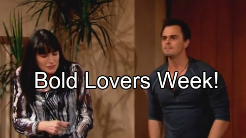 'The Bold and the Beautiful' Spoilers: Lovers Week - Steffy Moves In With Thomas, Liam Wins - Bill Woos Brooke