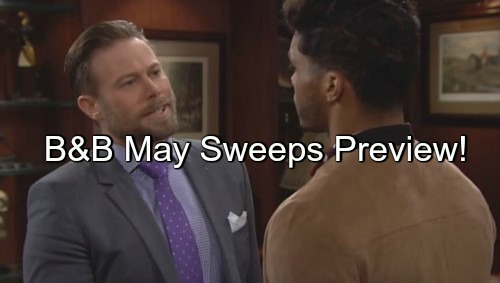 The Bold and the Beautiful (B&B) Spoilers: May Sweeps Preview – Nicole Delivers Healthy Premature Baby - Rick Takes Forrester