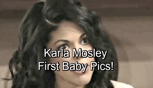 The Bold and the Beautiful Spoilers: Karla Mosley Shows Off First Baby Pics of Little Girl