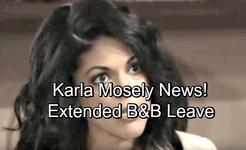 The Bold and the Beautiful Spoilers: Karla Mosley Takes a Break from B&B – Reveals 'Super Long Hiatus' Plans for Maya