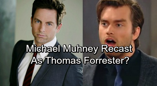 The Bold and the Beautiful Spoilers: Will Michael Muhney Join B&B As Thomas Forrester Recast?