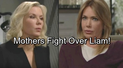The Bold and the Beautiful Spoilers: Taylor and Steffy vs. Brooke and Hope – Mother-Daughter Wars Explode Over Liam