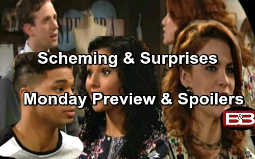 The Bold and the Beautiful Spoilers: Sally Blasts Saul, Strikes Forrester - Sasha Shocked by Zende and Nicole Wedding