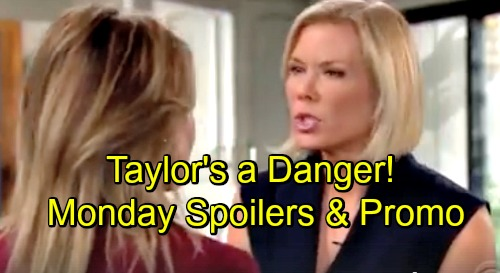 The Bold and the Beautiful Spoilers: Monday, December 3 - Brooke Wants To Report Shooting - Liam Insists Taylor Is Dangerous