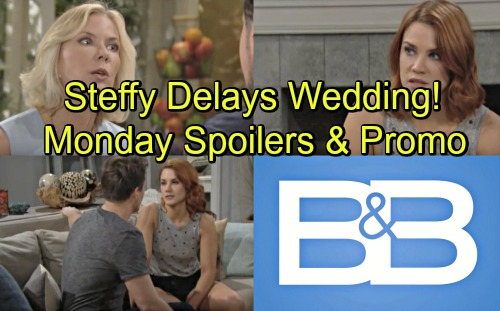 The Bold and the Beautiful Spoilers: Monday, June 25 – Steffy Makes Up Wedding Delay Excuse, Liam's Upset – Brooke Rages at Bill