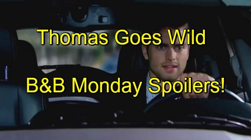The Bold and the Beautiful (B&B) Spoilers: Ridge Pushes Thomas to Rash Baby Action – Frustrated Fathers Escalate Conflict